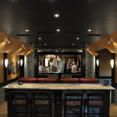 Media Room Design, Pictures, Remodel, Decor and Ideas - page 10