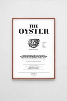 Dry things - Poster Kitchen Oyster