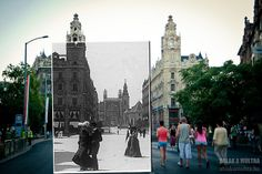 cool photo of past and today via Flickr