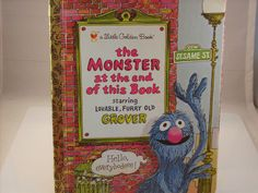 Little Golden Book Ser.: The Monster at the End of This Book by Jon Stone and...