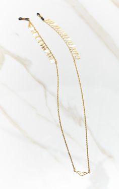 Trussit Feather Festival Eyewear Chain
