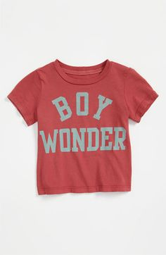 Peek 'Boy Wonder' T-Shirt (Infant) available at Nordstrom