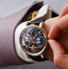 868dbbf61da Extremely beautiful and breathtaking Bovet timepiece Luxusní Hodinky