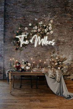 Wedding Signs, Boho Wedding, Dream Wedding, Neutral Wedding Decor, Wedding Ideas, Gifts For Wedding, Small Wedding Decor, Wedding Details, Small Wedding Receptions