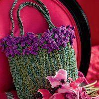 Crochet : un sac bordé de fleurs - Marie Claire Idées