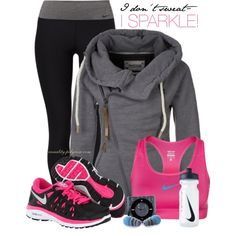 """I don't sweat..."" by casuality on Polyvore"