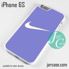 Blue Smooth Nike Phone case for iPhone 6/6S/6 Plus/6S plus
