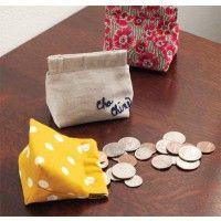 Flex Frame Coin Purse Sewing Pattern | InterweaveStore.com