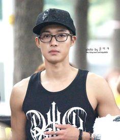 Kim Hyun Joong 김현중 ♡ hat ♡ glasses ♡ Kpop ♡ Kdrama ♡