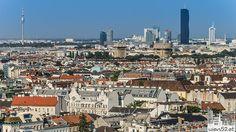 Blick in den Norden Wiens - 2015 Woche 33