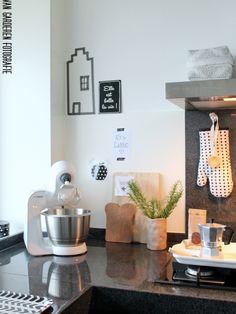 """Binnenkijken in interieur. Binnenkijken bij """"ons huisje op negen hoog"""". Scandinavisch licht & stoer interieur voor meer foto's kijk je op: www.arjavangarderen.blogspot.nl :)<br />"""