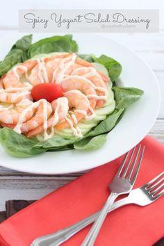 Spicy Yogurt Salad Dressing @createdbydiane