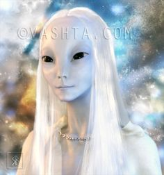 Sassani Lady for Yulan Notes for the client: She came through like a dream, or let's say from within a dream realm. She felt like a spirit at first, but Nordic Aliens, Dragon Makeup, Alien Concept Art, Archangel Raphael, Alien Races, Ascended Masters, Alien Creatures, Alien Art, Anime Characters