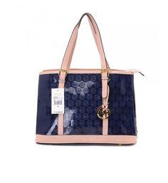 Cheap Michael Kors Women Bags Amangasett Straw Large Blue Totes Outlet Online Sale.