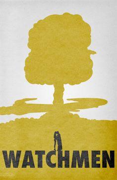 Watchmen (2009) - Minimal Movie Poster by Travis English #minimalmovieposters #alternativemovieposters #travisenglish