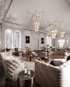 With the change of the season, many homeowners feel inspired to decorate and remodel their homes. To help you with your spring interior design efforts, I share my top ten decorating tips and tricks to help you decorate like a pro! Luxury Homes Interior, Luxury Home Decor, Interior Exterior, Cheap Home Decor, Classic Interior, Modern Interior Design, Neoclassical Interior, Luxury Living, Living Room Decor