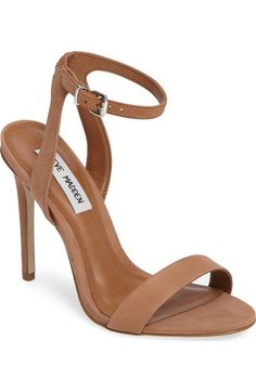 0f59ba090f0c Steve Madden Landen Ankle Strap Sandal (Women) available at  Nordstrom Lace  Heels