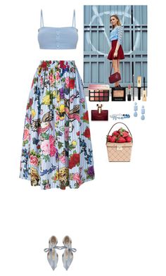 """""""Summer mood"""" by eliza-redkina ❤ liked on Polyvore featuring Steve Madden, Miss Selfridge, Philipp Plein, Bulgari, MAC Cosmetics, Yves Saint Laurent, Sephora Collection, Chanel, Kate Spade and Summer"""