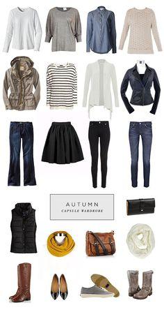 Minimalist Style : Capsule Wardrobe, Autumn Edition | Roots, Wings &…