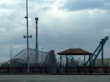 King's Island Amusement Park, Ohio: A little blond girl in a blue frock is said to wander the Waterworks. Her ghost is said to be linked to a tiny cemetery located just off the grounds of King's Island. The Eiffel Tower ride is haunted by a ghost named Tower Johnny. He is said to have made an unfortunate decision on the night of his graduation. In 1983, he climbed up the elevator shaft of this ride and lost his footing. He fell to his death after being cut in half by the elevator cables. His…