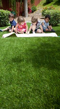 Kids Love Playing On Easyturf Because It S So Soft Www