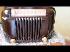 *American*Radio*Design* - Greg Mercurio - Deco-Mid Century, Retro Styled Vintage Tube Radios : BENDIX MID CENTURY TUBE RADIO Model 526 A - 1946 ...