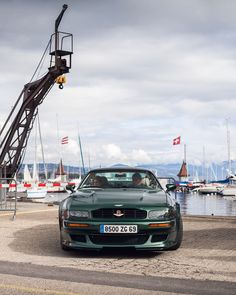 "Daniel Zizka on Instagram: ""Vantage. #V550 #Morges @britishcarmorges #Vantage #90s #RacingGreen #BRG #makegreengreatagain"" Aston Martin, The Past, Wheels, Cars, Instagram, Autos, Vehicles, Automobile, Car"