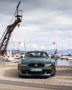 "Daniel Zizka on Instagram: ""Vantage. #V550 #Morges @britishcarmorges #Vantage #90s #RacingGreen #BRG #makegreengreatagain"" Aston Martin, The Past, Wheels, Cars, Instagram, Autos, Vehicles, Automobile, Car"