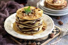 10 rakott palacsinta, amit imádni fog a család | Mindmegette.hu Pancakes, Breakfast, Recipes, Foods, Breakfast Cafe, Food Food, Food Items, Pancake, Rezepte