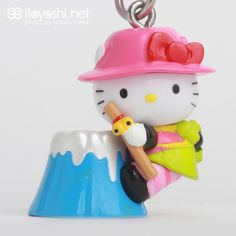itoyoshi's Gotochi Kitty collection NO.1702 Mt.Fuji Limited Mt.Fuji Yama-Girl Hello Kitty