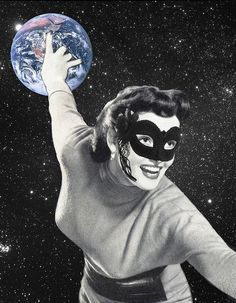 Eugenia Loli Collage - Bowler