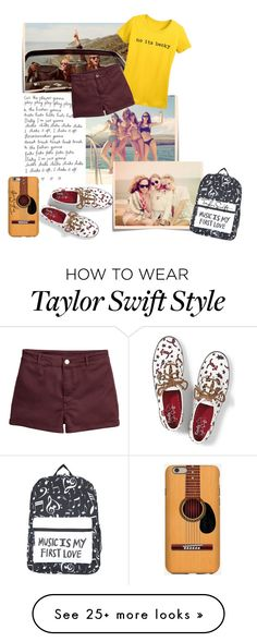 """T. S."" by akflow on Polyvore featuring Post-It and Keds"