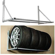HyLoft Model 01012 Tire-Loft Multi Tire Storage System, 48-Inch wide by 36-Inch Deep