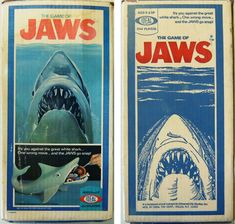 The Game of Jaws #vintagetoys #idealtoycompany