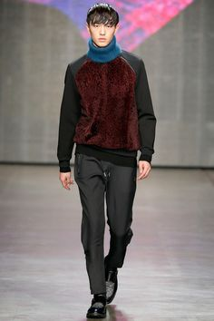 Wilhelmina Models: Dachuan Jin for Iceberg, MFW F/W '14 - See more at: wilhelminanews.com