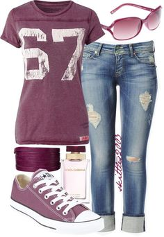 love all of it - need similar tee and boyfriend jeans. Have grey converse.