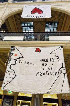 """""""Ti amo"""". """"Anch'io ho dei problemi"""". In mostra a Bologna gli """"Amori sfigati"""""""