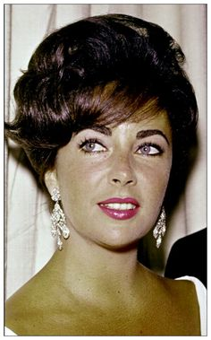 Elizabeth Taylor- she reminds me so much of my mum when she was younger.