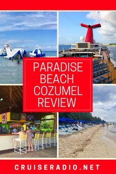 Paradise Beach is one of Cozumel's highest rated beach clubs for good reason. Offering 350 feet of white sandy beaches and Cozumel's largest heated pool… Paradise Beach Cozumel, Cozumel Beach, Cozumel Cruise, Cozumel Mexico, Cruise Port, Cruise Travel, Cruise Vacation, Cruise Tips, Cozumel Excursions