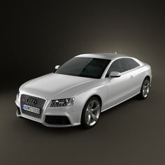 Audi RS5 2011 3d model from humster3d.com. Price: $75