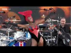 Grace Jones - Slave To The Rhythm (Queen's Diamond Jubilee Concert)