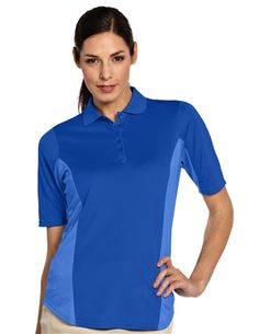 Admire 100593 Womens Performance Golf Polo by Antigua. Buy it @ ReadyGolf.com