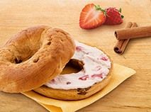 Say good morning to sweet bagel bliss. Packed with raisins and cinnamon swirls, it's your favorite breakfast bagel, made healthier with whole wheat! Breakfast Bagel, Breakfast Items, Protein Nutrition, Diet And Nutrition, Cinnamon Raisin Bagel, Food To Go, Frozen Meals, Fresh Fruits And Vegetables, Healthy Meal Prep