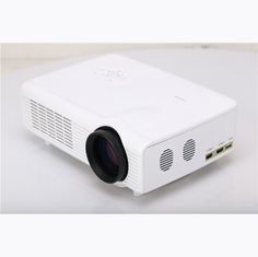 C0608 LED 1800LM Projector 1024 x 768 Pixels Support SD Card USB HDMI AV VGA Input #ledprojector #projector #hdmi