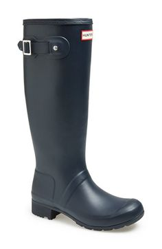 Hunter+'Tour'+Packable+Rain+Boot+(Women)+available+at+#Nordstrom