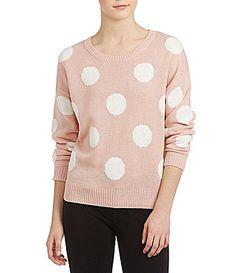 IN San Francisco Dot Sweater #Dillards
