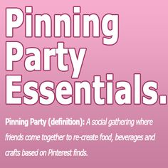 Pinning Party!