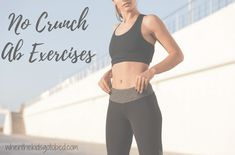 Fitness Friday – No Crunch Abs – When the Kids Go to Bed