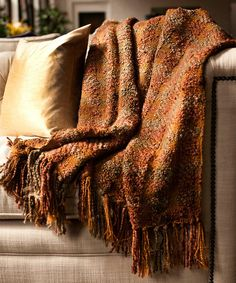 Look what I found on #zulily! Fall Manchester Throw Blanket by Woven Workz #zulilyfinds