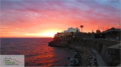 Sunset over Forio, Ischia